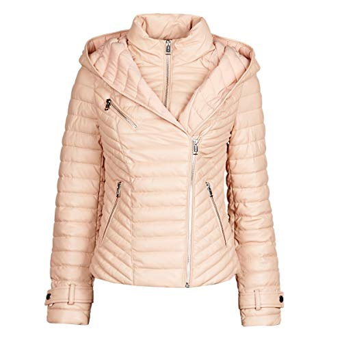 Guess Breta Jacken Damen Rose - L - Lederjacken/Kunstlederjacken Outerwear