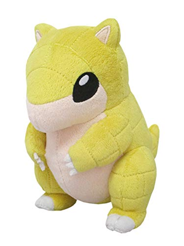Sanei Pokemon Plush Toy All Star Collection PP106 Peluche (S) Sandshrew Sabelette Sandan