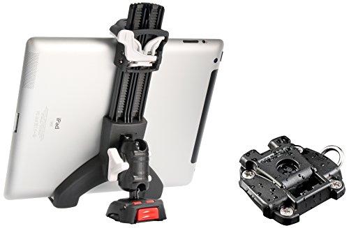 ROKK Mini Cases Screw Down Base Tablet Starter Kit, Nero/Rosso/Bianco, Taglia Unica