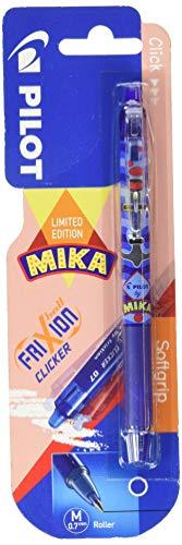 Bolígrafo Frixion Clicker Mika azul blíster 1 unidad