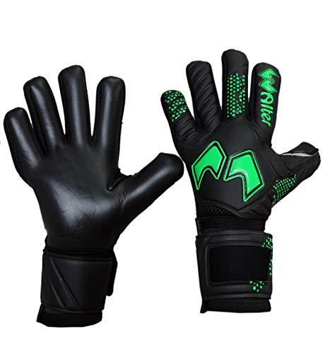 WALTER Guanti da Portiere Modello Evolution (7, Black-Green)