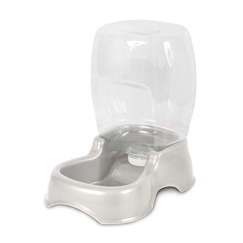 Petmate - Dispensador de Agua para Mascotas, 900 ml, Color Perla Blanca