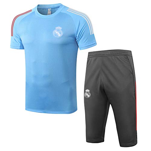 soft ニューメンズサッカーユニフォームギフト半袖ポロシャツサッカートレーニングユニフォームファンユニフォームショーツフットボールスポーツウェア - ファッション20-xx-largh.G1