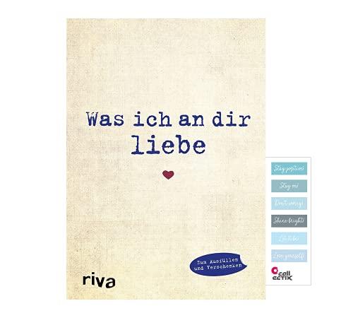 Buchspielbox was ich an dir Liebe: Eine originelle Liebeserklärung zum Ausfüllen und Verschenken + Story-Sticker
