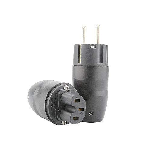Conector de audio HiFi de alta fidelidad y conector de baja potencia,...