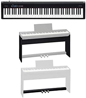 Roland Roland FP-30 Digital Piano (Black) - Bundle With Roland KSC-70 Custom Stand, Roland KPD-70 Pedal Unit