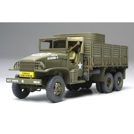 Tamiya Models US 2 1/2 Ton 6x6 Cargo Truck Model Kit