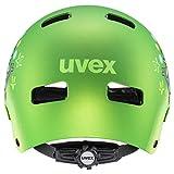 Uvex Unisex Kinder Kid 3 cc Kinderfahrradhelm, green mat, 51-55 cm - 3
