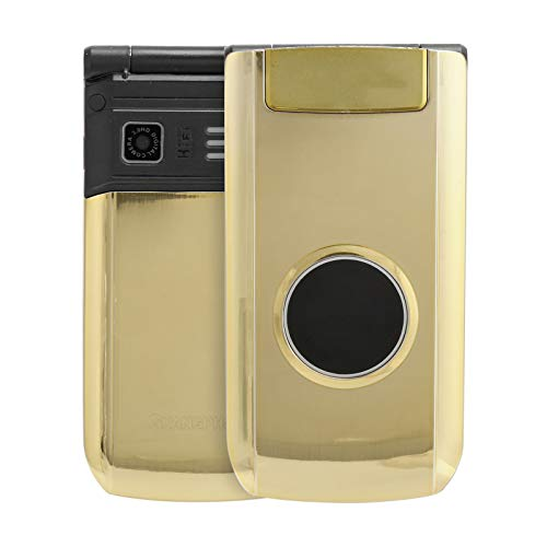 Sojare X6 Teléfono Celular abatible Mayor Desbloqueado de 2,4 Pulgadas, 32 MB + 32 MB, teléfono abatible con Doble Tarjeta y Modo de Espera Dual, teléfono gsm Desbloqueado con batería de 3800 mAh(EU)