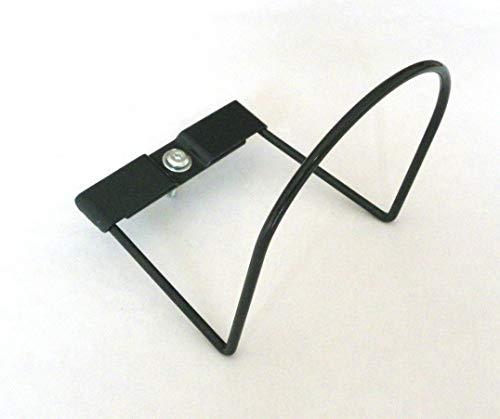 Zubehör für Lattenrost, um ein Verrutschen der Matratze zu verhindern, extraflach, 2 x 38 / 140 mm, Grau (4 Stück)