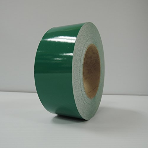 """2"""" 3M Vinyl Striping 150' 25 Colors Available (Green)"""