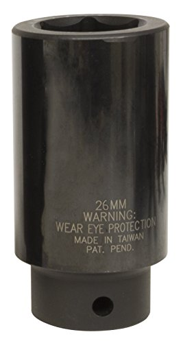 Lisle 77130 26 mm Heavy Douille à impact