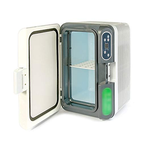 SUIWO Compact Car Frigoriferi Frigorifero Frigorifero Portatile Compatto Personal Frigo, Cools e riscalda, 12L capacità, Eco Friendly, Include Tappi for casa Outlet