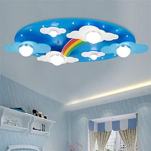Deckenlampenschirme für Schlafzimmer Kinder, Led Kreative Wolken Form Deckenleuchten, Geeignet für...