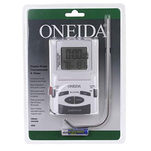 Oneida Digital Probe Thermometer with TImer