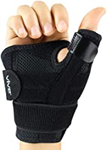 Vive Arthritis Thumb Splint - Spica Support Brace for Right and Left Hand - CMC Osteoarthritis Restriction for Pain, Sprains, Strains, Carpal Tunnel & Trigger Finger - Immobilizer Wrist Strap