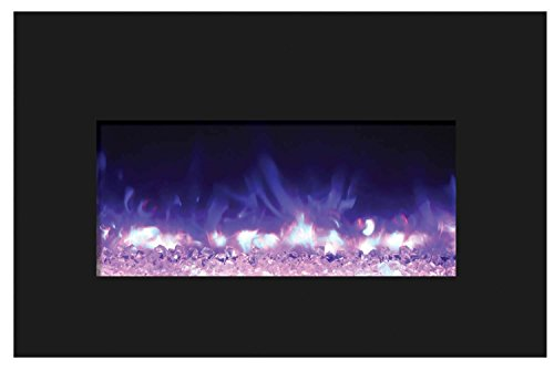 Amantii INSERT-30-4026-BG-EMBER Insert Series Electric Fireplace Ember Media Kit, 30-Inch