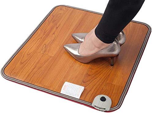 Heated Mat Foot Warmer Floor Heating Mat Pad Carpet Feet Heater, Warm Feet Mat Office Winter Warm Heating Pad Foot Switch Waterproof Electric Heating Pad Heating Pad,50x30cm