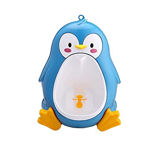【monluxe】 男の子 おまる 小便器 おしっこ トレーニング 男児 立ちション トイレ 練習 補助 便座 (ブルー)
