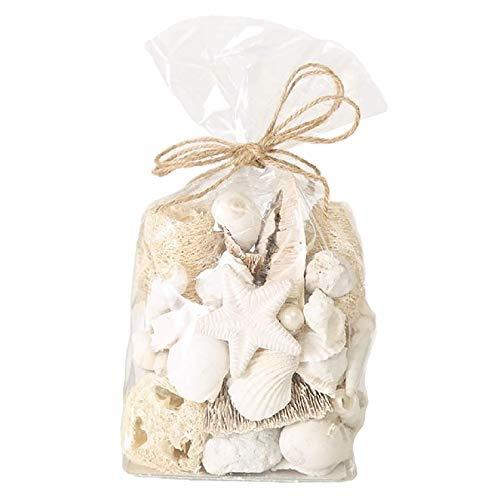 Home Collection Potpourri Streu Maritim Karibik Strandgut Muscheln Seestern Schnecken beige/weiß