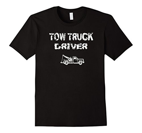 Kids Tow Truck Driver Vintage Vehicle Recovery T Shirt Gift Idea 12 Navy