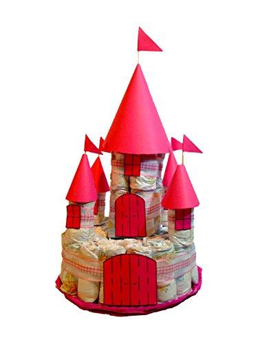 Castillo de pañales DODOT rosa