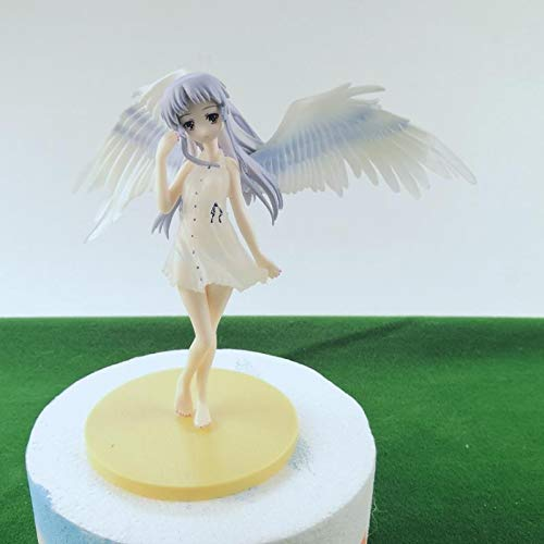 Home Furnishings 1pc Preciosa Dibujos Animados 15cm Angel Beats Tachibana Kanade PVC Figura de Acción Modelo Muñecas Decoración Anime Ángel Figura Juguetes Regalos