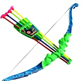 libelyef Bow And Arrow Kids Set Bow And Arrow Set Kids Archery Toy Shooting Toy Shooting Games Set For Kids...