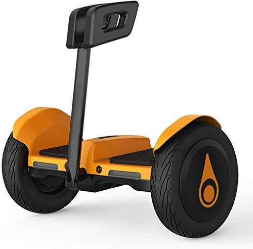 SSeir Dos Ruedas con EL Cuerpo DE Push Cuerpo INDUCCIÓN DE LA INDUCCIÓN Off-Carretera 10'Buque de Scooter de Auto-Equilibrio con Altavoz de Dientes Azules para niños y Adultos (Control de pie)