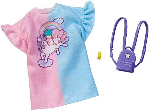 Barbie Hello Kitty Clothes: Little Twin Stars Dress, Backpack, Bracelet