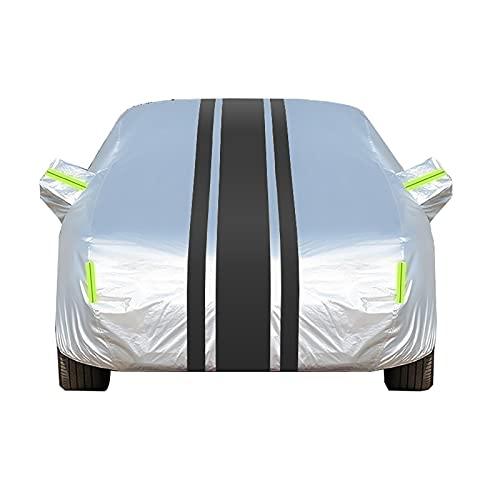 Funda Coche Impermeable -, Compatible con la cubierta de automóviles Mercedes-Benz Viano, protección integral de 360 °, tela Oxford más algodón (Color : B, Size : 5008×1901×1923MM)