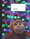 Monkey Swag: Composition Notebook with Blank College-Ruled Lined Paper.