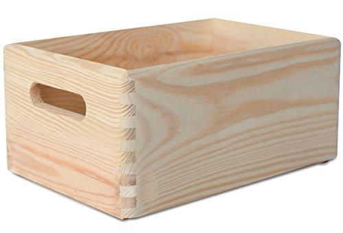 Creative Deco Grande Caja de Madera para Decorar | 30 x 20...