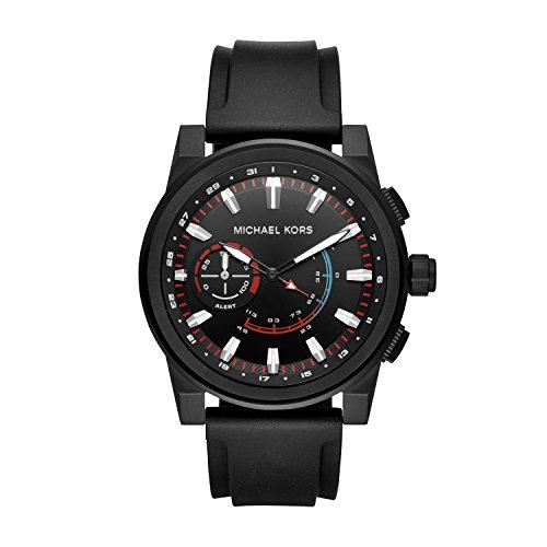 Michael Kors Reloj Analógico para Hombre de Cuarzo con Correa en Silicona MKT4010