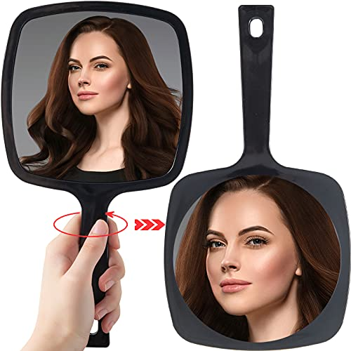 small vanity mirror with handle - 6