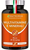 VITAMINE E MINERALI   per sentirsi in FORMA TUTTO L'ANNO   Vitamina C, Sistema immunitario   BOOSTER di 11 Vitamine + 6 Minerali   90 capsule   qualità HACCP+   Capsule vegetali   Senza Glutine   Vegane