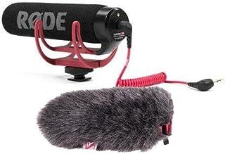 Rode VideoMic GO Lightweight On-Camera Mic BUNDLE w/Rycote Mini Windjammer