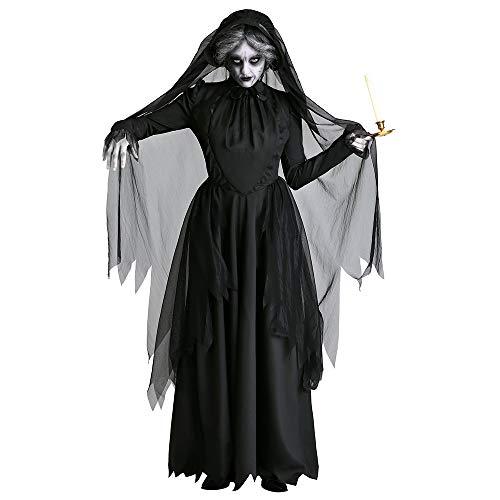 Halloween volwassen dode spoken heks jurk demon vampier kostuum donker pak duivel geest bruid kostuums eng kleding