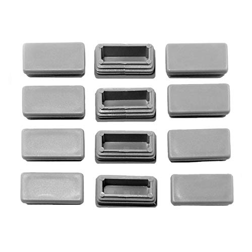 B/&T Metall Stahl Rechteckrohr 40 x 20 x 2,0 mm in L/ängen /à 2000 mm 0//-3 mm Flachkantrohr ST37 schwarz roh Hohlprofil Rohstahl