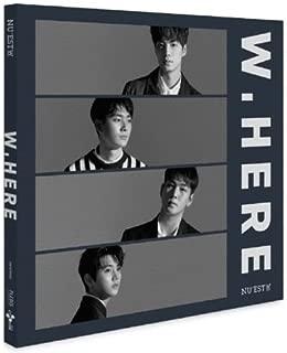 NU'EST W - [NEW ALBUM] PORTRAIT VER. CD+Photobook+Mini Photobook+PhotoCard+Poster(On Pack) K-POP Sealed