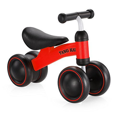 Goolsky Yang Kai Q1 + Baby Balance Bicicleta Aprender a Caminar sin Pedal de Montar a Caballo de Juguete
