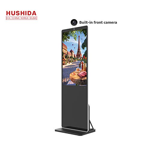 Buy HUSHIDA 43inch Super Thin Digital Signage Capacitive Touchscreen Kiosk with Camera, 1080p Full H...
