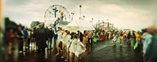 Posterazzi People Celebrating Mermaid Parade Coney Island Brooklyn City New York State USA Poster Print, (15 x 6)