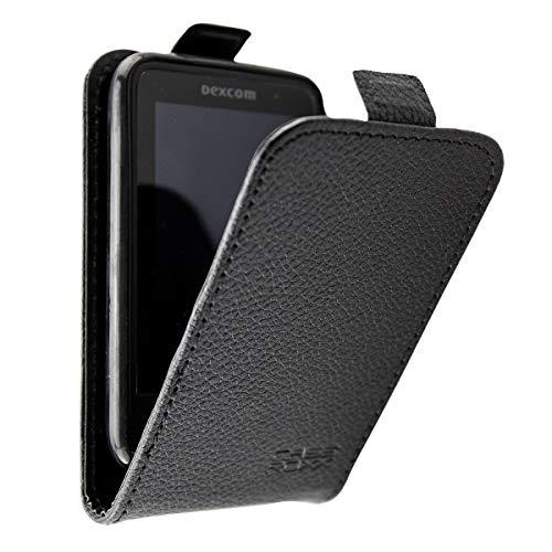 caseroxx Flip Cover für Dexcom G6 Receiver, Tasche (Flip Cover in schwarz)