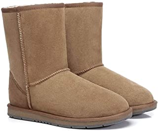 UGG Classic Short Boots for Women's Men's Uggs Premium Twinface Sheepskin Snow Boot Water Resistant Black Grey Chestnut Ch...