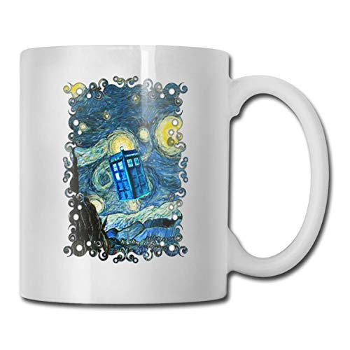 Dr. Who Tardis Police Box Keramik Kaffeetasse, Büro, Zuhause, Geschenk, Spaß, Liebhaber Tasse