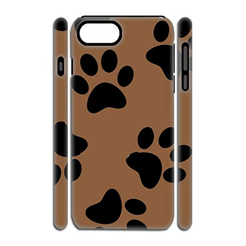 Gogh Yeah Generic Compatible for Sottile Shell Soft Gel di Silice E Addominali Women Stampare Dog Paw 3 iPhone 7p 8p