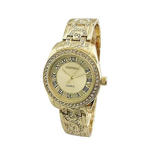 Reloj de Pulsera Reloj de Mujer Rhinestone Moda Oro Rosa Reloj de Mujer Reloj Reloj Mujer Reloj de Mujer