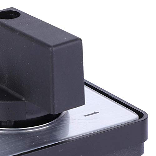 Interruptor de cambio, interruptor de cambio de leva, 2 posiciones, 4 terminales, interruptor de cambio de 2 posiciones, interruptor de leva, tipo de bloqueo del generador para baja