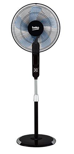 Beko EFS6000B Ventilatore a piantana, 55 W, 42 Decibel, Plastica, Nero
